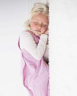 Merino Kids Sacco Nanna Go Go Bag™ (2-4 anni) – Collezione Wildflower - Rosa - 100% Lana Merino Naturale e Cotone Bio Sacchi Nanna Pesanti