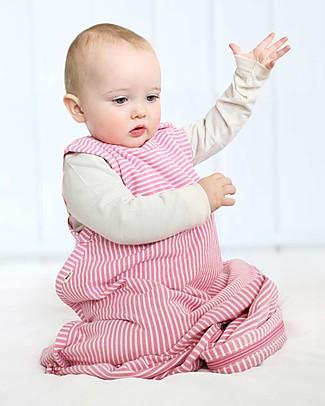 Merino Kids Sacco Nanna Go Go Bag™ - Collezione Wildflower (0-2 anni) - Rosa - 100% Lana Merino Naturale e Cotone Bio Sacchi Nanna Pesanti
