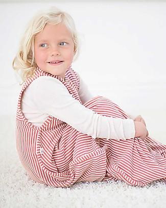 Merino Kids Sacco Nanna Go Go Bag™ Rosso Lampone (2 - 4 anni) - 100% Lana Merino Naturale e Cotone Bio Sacchi Nanna Pesanti