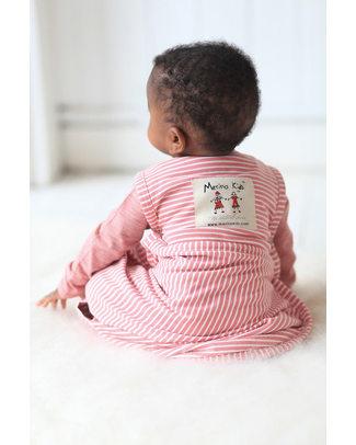 Merino Kids Sacco Nanna Go Go Bag™ Rosso Lampone (nascita - 2 anni) - 100% Lana Merino Naturale e Cotone Bio Sacchi Nanna Pesanti