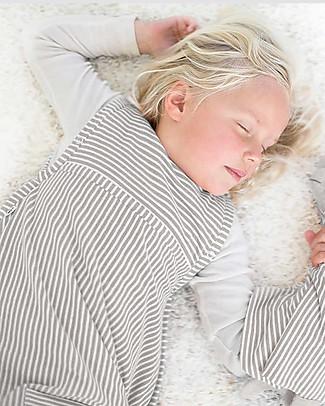 Merino Kids Sacco Nanna Go Go Bag™ Tortora (2-4 anni) - 100% Lana Merino Naturale e Cotone Bio Sacchi Nanna Pesanti