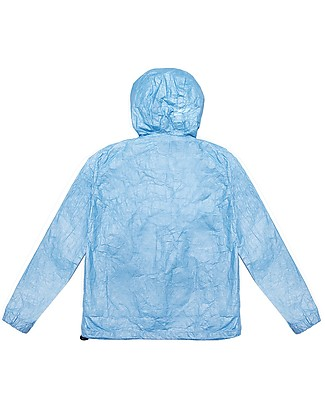 Mia Bu Milano Giacca Antivento Estiva, Bluette -  100% Tyvek®, innovativo tessuto brevettato Giacche