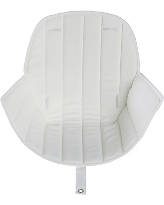 Micuna Seduta Luxe in Tessuto per Seggiolone Ovo One - Bianco Seggioloni