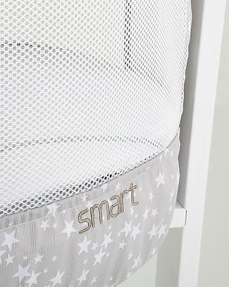 Micuna Set Tessile per Culla Smart Fresh, Stelle – Traspirante e anallergico! Culle e Ceste