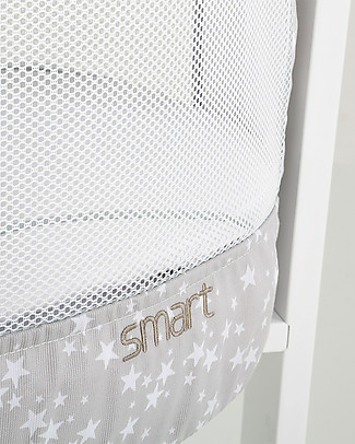 Micuna Set Tessile per Culla Smart Fresh, Stelle - Traspirante e anallergico! Culle e Ceste