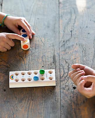 Milani Wood Arcobaleno, Il Gioco dei Colori – In legno. Ottima idea regalo! Construzioni In Legno