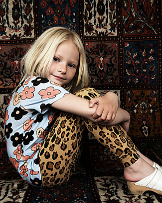 Mini Rodini Leggings Leopardati - Cotone bio, eco-friendly! Leggings