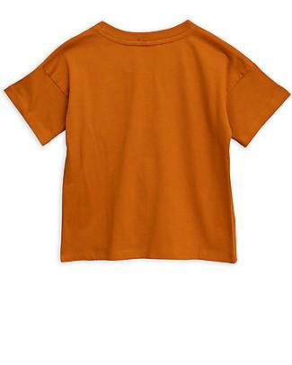 Mini Rodini T-Shirt Coccodrillo, Marrone - Cotone bio T-Shirt e Canotte