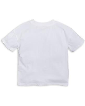 Mini Rodini T-Shirt Draco, Bianco/Verde - Cotone bio T-Shirt e Canotte