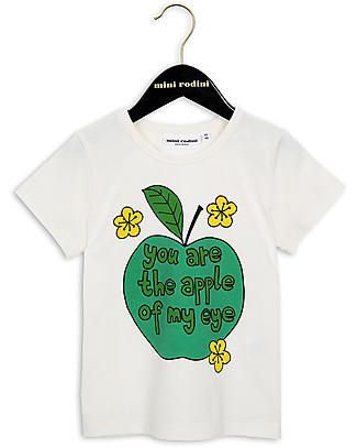 Mini Rodini T-Shirt Mela - Cotone Bio Top