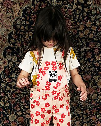 Mini Rodini T-Shirt Unicorni, Panna - 100% cotone bio  T-Shirt e Canotte