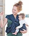 Minimonkey Marsupio Portabebè per Gemelli Twin, Grigio - Ergonomico e facilissimo da indossare Fasce Portabebé