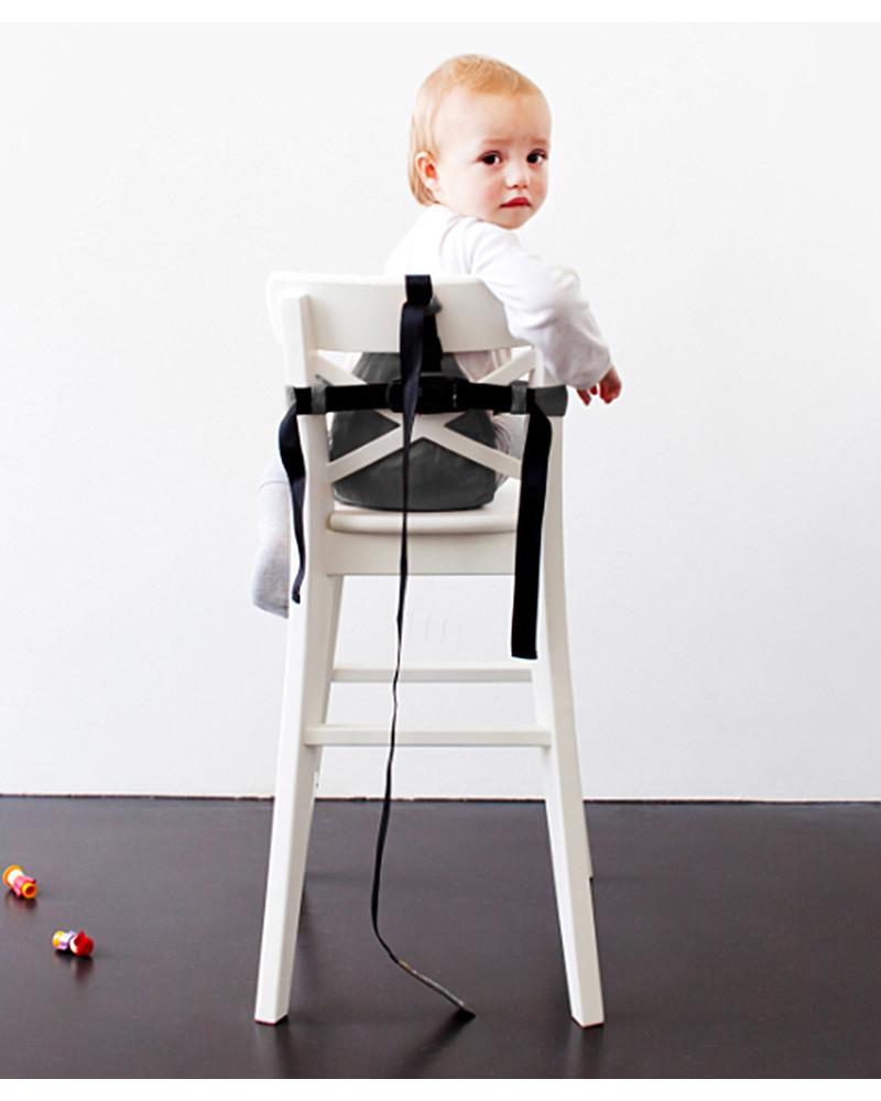 Minimonkey minichair grigio seggiolino universale da tavolo sta anche in borsa unisex - Seggiolini da tavolo prezzi ...