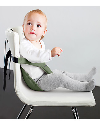 Minimonkey Minichair - Verde Salvia - Seggiolino Universale da Tavolo - Sta anche in borsa! null