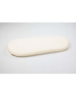 Moba Coprimaterasso per Cesta per Neonati Moba, Beige - 100% cotone Lenzuola