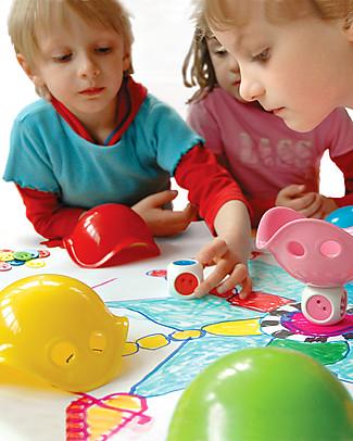 Moluk Bilibo Scatola Giochi - 6 mini Bilibo e tante idee gioco! Giochi Da Tavolo