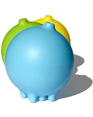 Moluk Palla della Pioggia Pluï Rain Ball - Azzurro – Gioco per il Bagnetto (senza BPA, ftalati, lattice)  Giochi Bagno