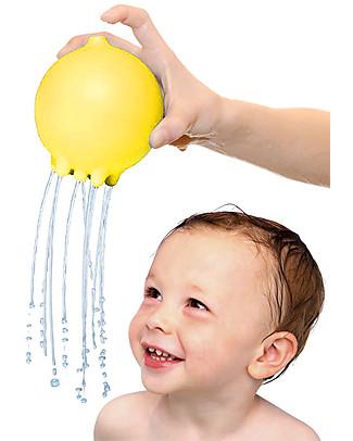 Moluk Palla della Pioggia Pluï Rain Ball - Giallo – Gioco per il Bagnetto (senza BPA, ftalati, lattice)  Giochi Bagno