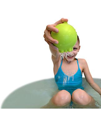 Moluk Palla della Pioggia Pluï Rain Ball - Verde – Gioco per il Bagnetto (senza BPA, ftalati, lattice)  Giochi Bagno