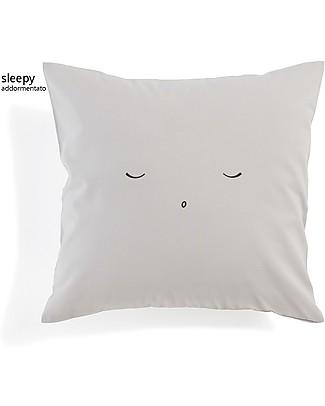 Motomo Cuscino Baby Sleepy - 30x30 cm 100% Cotone Bio Cuscini
