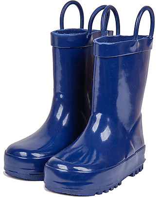 Mr.Tiggle Stivali da Pioggia in Gomma, Foderati in Cotone - Blu Stivali Pioggia