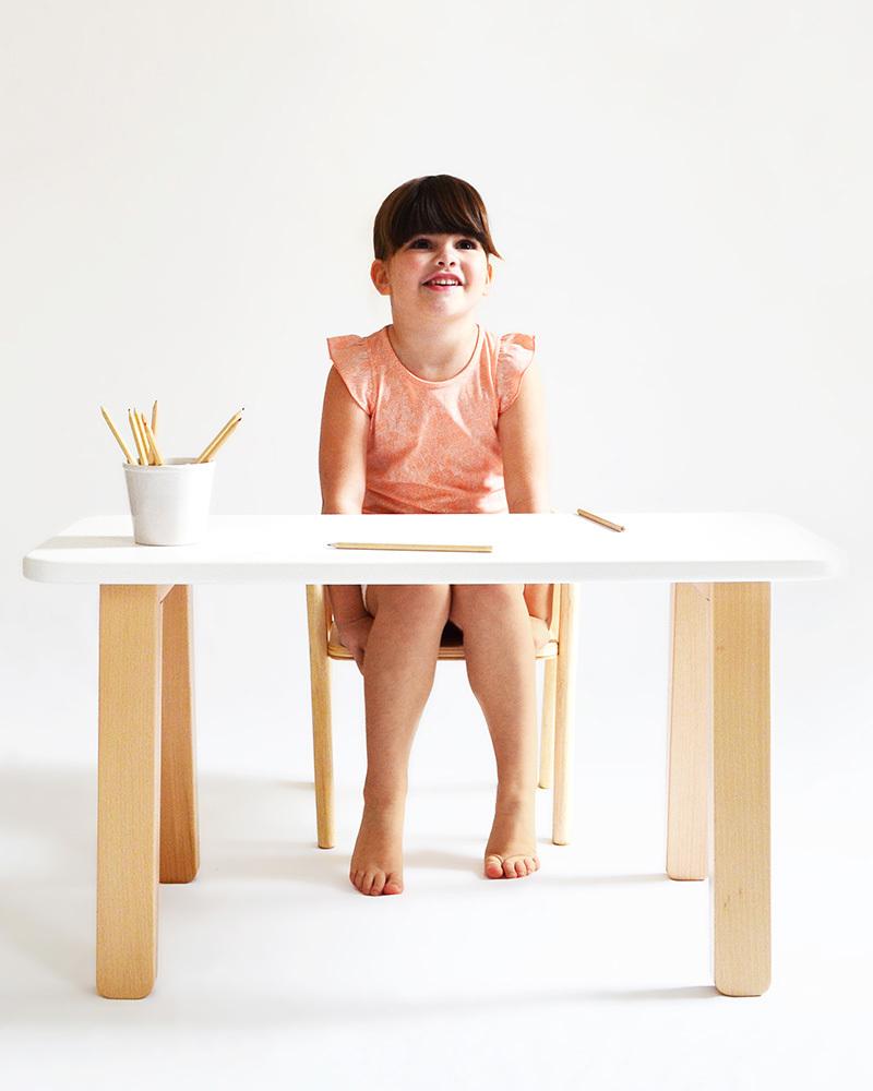 Mum and dad factory tavolo scrivania per bambini bianco - Tavolini per bambini disney ...