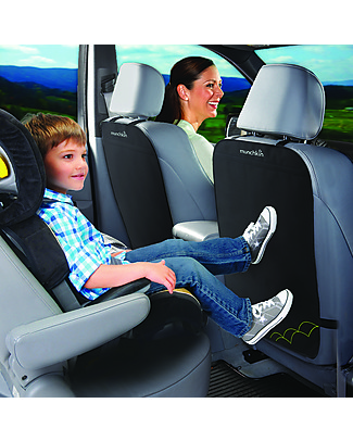 Munchkin Deluxe Kick Mat - Set 2 tappetini proteggi sedile Accessori Seggiolini Auto