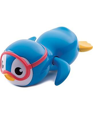 Munchkin Pinguino Nuotatore, Giocattolo per Bagnetto – Nuota davvero! Giochi Bagno