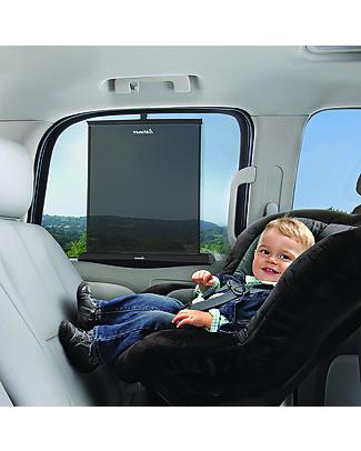 Munchkin Tendina Parasole Smart Shade - Sale e scende con il finestrino! Accessori Seggiolini Auto
