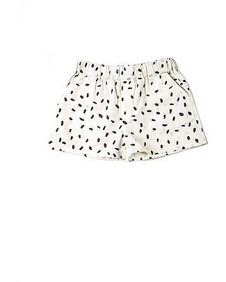 Nadadelazos Pantaloncini Chicchi di Riso, 100% popeline di cotone bio Pantaloni Corti