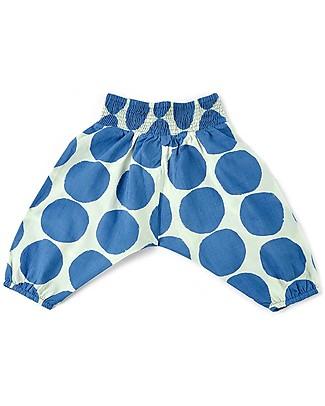 Nadadelazos Pantalone Unisex, Dotto – 100% voile di cotone bio Pantaloni Lunghi