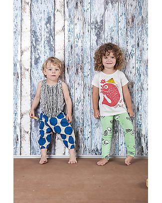 Nadadelazos Pantalone Unisex, Dotto - 100% voile di cotone bio Pantaloni Lunghi