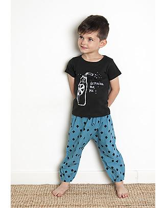 Nadadelazos Pantaloni Estivi Unisex, Mini Rombo - 100% cotone Pantaloni Corti