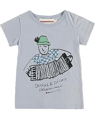 Nadadelazos T-shirt Doodeldidoo - 100% cotone bio T-Shirt e Canotte