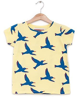 Nadadelazos T-shirt Gabbiani - 100% jersey di cotone bio T-Shirt e Canotte