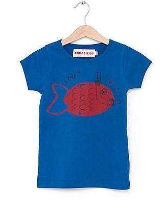 Nadadelazos T-shirt Snorkeling - 100% jersey di cotone bio T-Shirt e Canotte