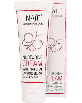 NAIF Baby Care Crema Baby Naturale Riparatrice Viso e Corpo – Senza SLS/SLES, Parabeni, Oli Minerali o PEG Creme e Olii