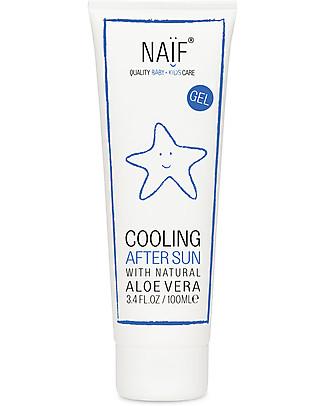 NAIF Baby Care Gel Doposole Lenitivo, 100 ml - Dermatologicamente Testato Solari