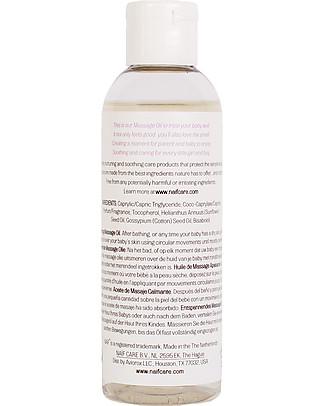 NAIF Baby Care Olio da Massaggio Lenitivo Baby  - Senza SLS/SLES, Parabeni, Oli Minerali o PEG Creme ed Olii Baby