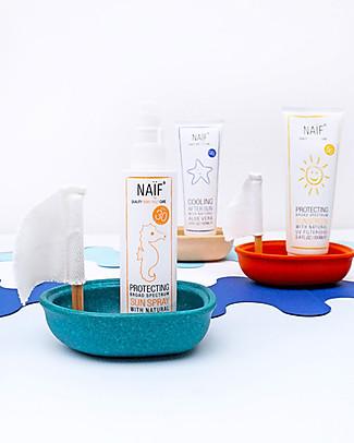 NAIF Baby Care Protezione Solare Spray SPF30 - Filtri non Chimici, 100 ml - Anallergica - Protegge dai raggi UVA e UVB! Solari