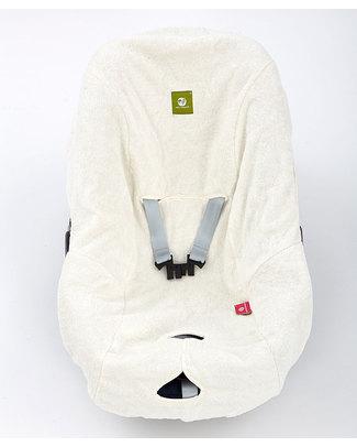 Nati Naturali Copriovetto - Bianco - 100% Spugna di Cotone Naturale Accessori