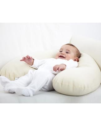Nati Naturali Cuscino allattamento in Pula di Farro + Fodera in Cotone Bio Pula Di Farro