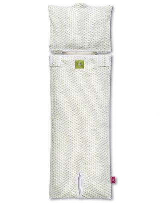 Nati Naturali Fodera per Materassino Passeggino - Cuori - 100% Jersey di Cotone Bio (materassino non incluso) Accessori