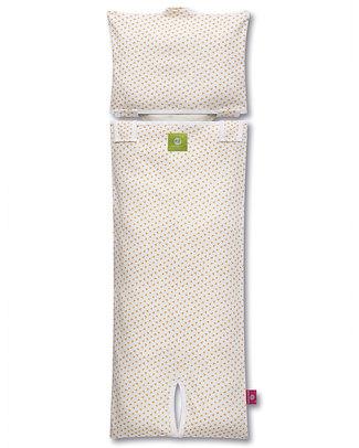 Nati Naturali Fodera per Materassino Passeggino - Fiori - 100% Jersey di Cotone Bio (materassino non incluso) Accessori