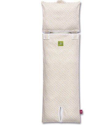 Nati Naturali Fodera per Materassino Seggiolino Auto (9-18 kg) - Fiori - 100% Jersey di Cotone Bio (materassino non incluso) Accessori Seggiolini Auto