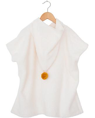 Nobodinoz Poncho da Bagno So Cute, Natural - Cotone bio Accappatoi e Asciugamani