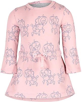 Noeser Else, Abito Bimba Barboncino, Dreamy Pink - Cotone bio elasticizzato Vestiti