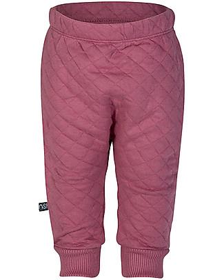 Noeser Pantaloni Felpati Trapuntati Bally, Lampone – Cotone Bio – 2/24 mesi Pantaloni Lunghi