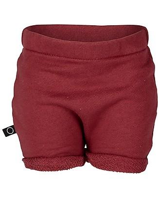 Noeser Shorts Robin, Totem Red  – 100% Cotone Bio Pantaloni Corti