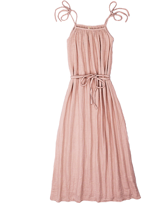 Numero 74 Abito Donna Mia - Rosa Antico - Doppia Mussola di Cotone Vestiti